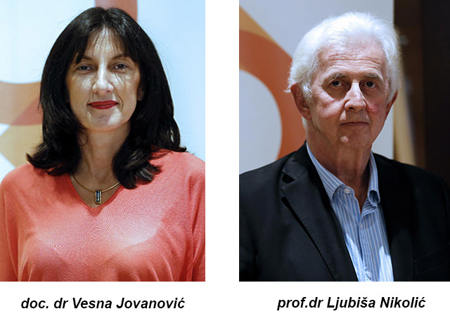 Autori dr sci i doc. dr Vesna Jovanović, Prof.dr Ljubiša Nikolić