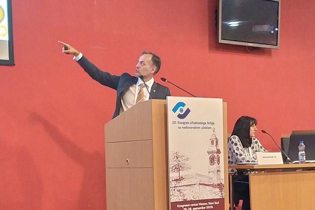 Dr Jankov - predsednik Udruženja hirurga katarakte i refraktivnih hirurga Srbije
